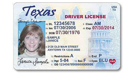 Texas-Driver's-License